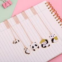 1 шт kawaii гигантский Закладка панда милый изысканный кулон