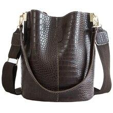 Женская сумка через плечо из искусственной кожи под крокодила, брендовая роскошная дизайнерская сумка через плечо