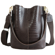 Bolsa de couro do plutônio do crocodilo para as mulheres senhora crossbody sobre o ombro saco marca superior luxo designer bolsa feminina totes sac a principal