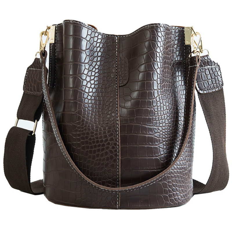 Crocodile PU Leather Handbag For Women Lady Crossbody Over Shoulder Bag Top Brand Luxury Designer Bag Feminina Totes Sac A Main