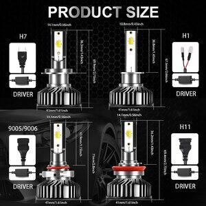 Image 2 - BraveWay 3000K + 6500K Led سيارة المصابيح الأمامية H7 LED H4 H8 H9 H11 المزدوج LED مصباح تلقائي متعدد الألوان الضباب أضواء دراجة نارية المصابيح