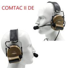 Тактическая охотничья гарнитура comtac ii уличная Защита слуха