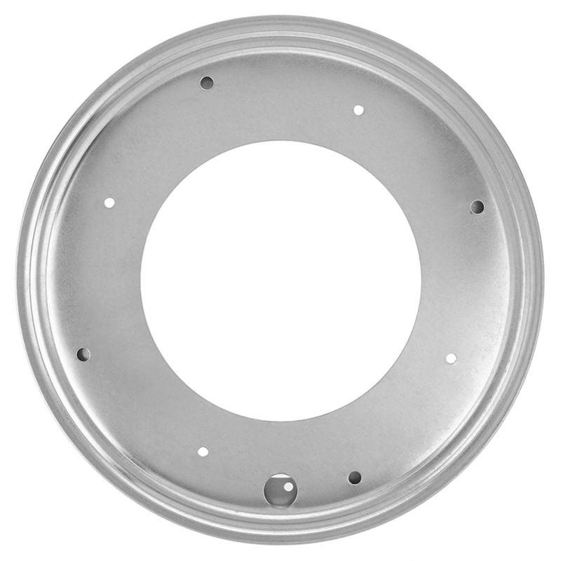 12 Inch Round Shape Galvanized Turntable Rotating Swivel Plate Kitchen Display Table Hardware in Swivel Plates from Home Improvement