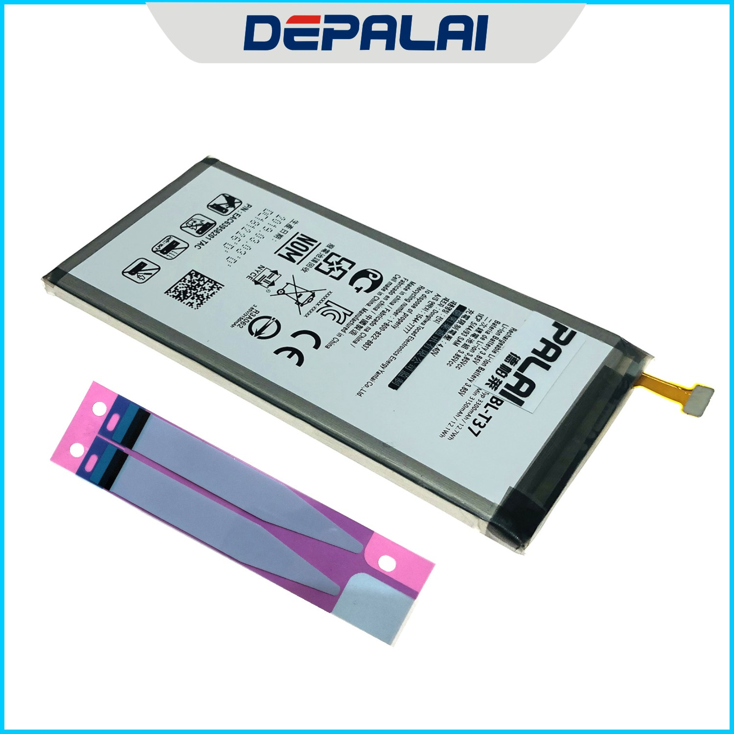 3300mAh BL-T37 <font><b>Battery</b></font> For <font><b>LG</b></font> Q Stylo <font><b>4</b></font> Q710 Q710MS LM-Q710CS LM-Q710MS Mobile Phone High Quality image