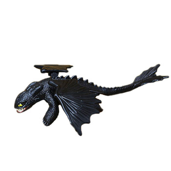 Toothless How to Train Your Dragon Night Fury Deadly Nadder dragon action figures small birthday gift