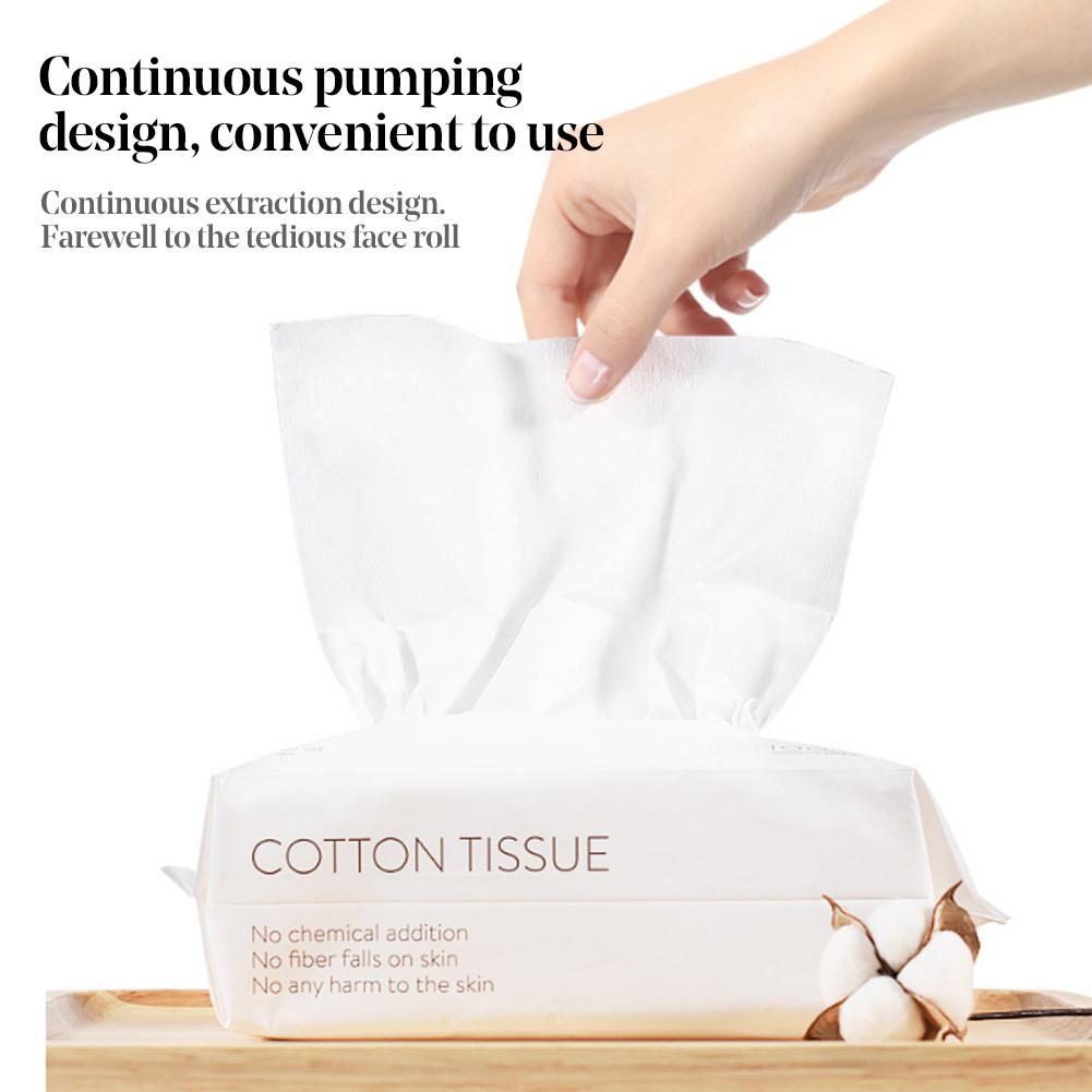Multipurpose Cotton Disposable Face Towel Cleansing  Wet Dry Dual-use Travel W
