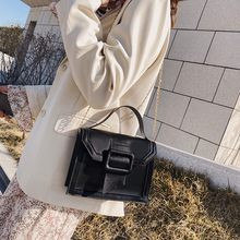 Leather Shoulder Bags 2020 Fashion Summer New Trend Large Capacity Pure Color Messenger Bag Wild Hand Bag Simple Pouch MG5(China)