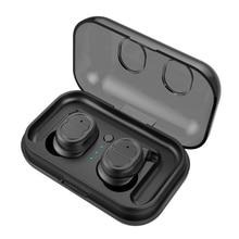 True Wireless Earbuds Bluetooth 5.0 Headphones Sports in-Ear TWS 3D Stereo Sound Earphone 4-5 Non-Stop Play time IPX4 Waterproof