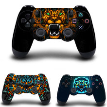 PS4 Slim Controller Stickers,PS4 Controller Skin Vinyl Decal Sticker for Sony PlayStation 4 DualShock 4 Wireless Controller(China)