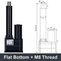 Electric linear actuator dc24v elevator control 10000n load 1000kilo 600mm 800mm 900mm stroke motor drive mechanical arm bracket