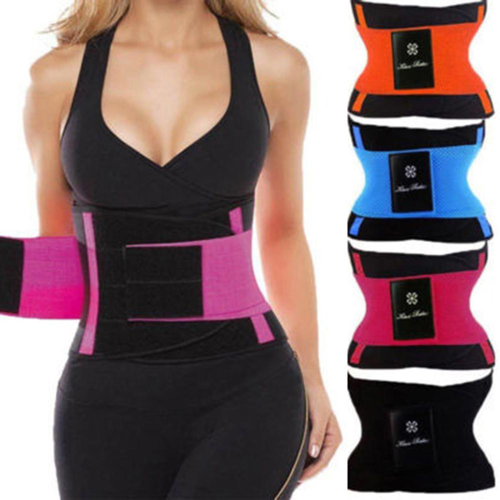 Women Slimming Body Shaper Waist Belt Girdles Control Waist Trainer Corset Shapwear Modeling Strap