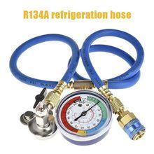 A/C R134 A Refrigerant Recharger Hose Low Pressure Car Air Conditioning Gauge