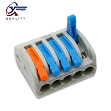 30/50/100 PCS/lot PCT-215 color 222-215 mini fast wire Connectors Universal Compact Wiring Connector push-in Terminal Block 30 50 100 pcs lot pct 214 color 222 214 mini fast wire connectors universal compact wiring connector push in terminal block