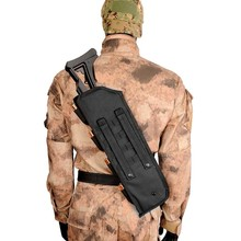 19inch Tactical Rifle Shotgun Bag Scabbard Pouch with Shoulder Strap Airsoft Combat Hunting Gun Holster Backpack Protection Case