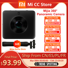 Panoramic-Camera Video-Recording Wifi Xiaomi Mijia 360 Bluetooth Mini IP67 Rating Original