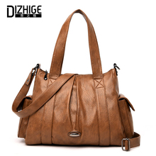 DIZHIGE Brand Luxury Large Capacity PU Women Handbag High Quality Crossbody Bags For Multi-pocket Female Shouldr Bag New