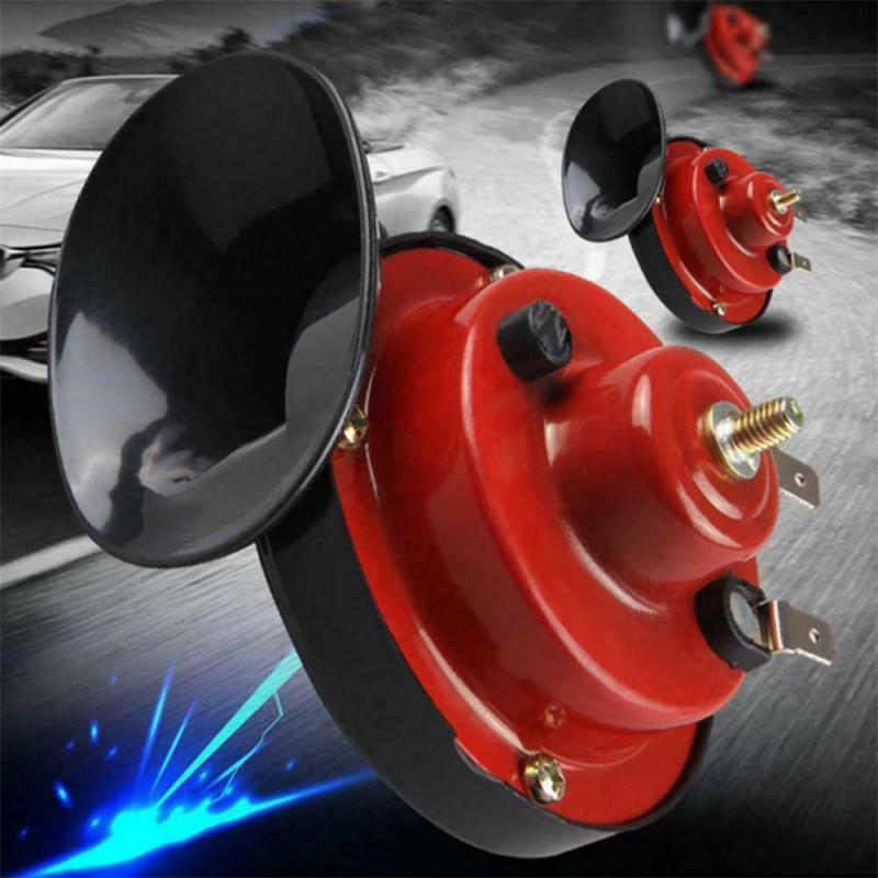 Клаксон водонепроницаемый 12 В 150 дБ, автомобильный громкий гудок, улитка, Электрический гудок, сирена, клаксон, сигнал, автомобильные аксесс...