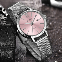 NORTH Women Watches Luxury Brand Quartz Watch Women Fashion Dress Simple Stainless Steel Waterproof Lady Casual Business Watches