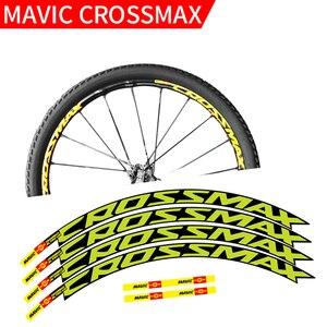 Image 3 - MAVIC CROSSMAX SL PRO MTB rad aufkleber breite 18mm PRO fahrrad rad decals bike aufkleber für zwei räder abziehbilder MTB felge aufkleber
