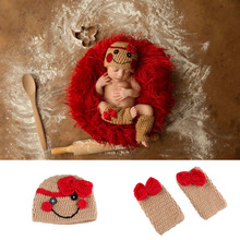 Outfit Crochet Clown Costume Hat Beanie Photography-Props Knitted Baby Infant New Born