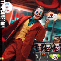 In Stock TOYS ERA PE004 1/6 Scale The Comedian Joker Clown Joaquin Action Figure Model 3 Head Sculpts Whole Set Collections