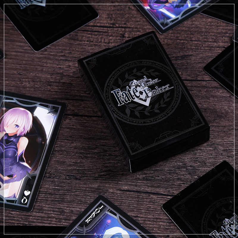 1 Set Fate / Grand Order Fgo Speelkaarten Fgo Omliggende Kaarten Sabel Cartoon Speelgoed Gift