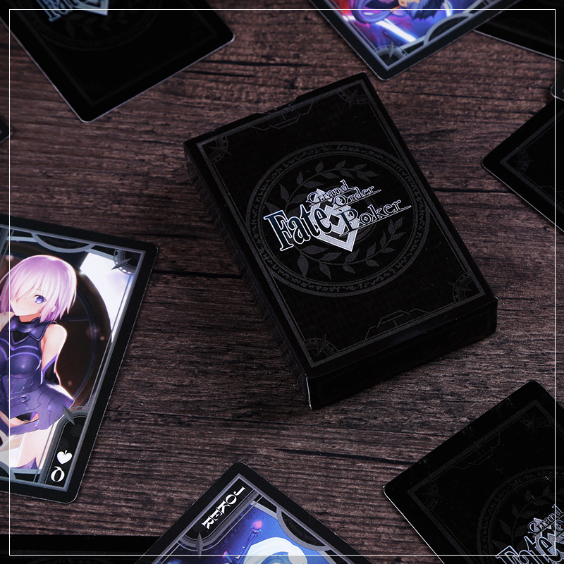 1 Set Fate / Grand Order FGO Playing Cards FGO Surrounding Cards Saber Cartoon Toys Gift
