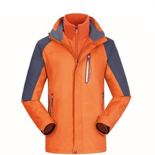 Men Winter Softshell Waterproof Jacket Women Windbreaker Rain Fleece Outdoor Warm 2 piece Hiking Camping Trekking Skiing Jackets rax winter outdoor waterproof hiking jacket for men fleece windbreaker windproof softshell jacket men s thermal rain jackets men