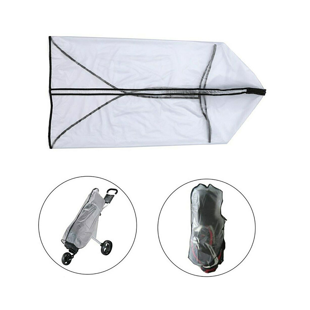 Outdoor Wear Resistant Shield PVC Bag Golf Rain Cover Store Antistatic Rod Protector Accessories Rainproof Waterproof Dustproof