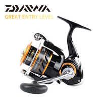 100% oryginalny DAIWA misja CS Spinning wędkarstwo kołowrotek 2000S 2500S 3000S 4000S Gear Ratio5.3: 1 3 + 1BB przeciągnij moc 2 ~ 6KG kołowrotek