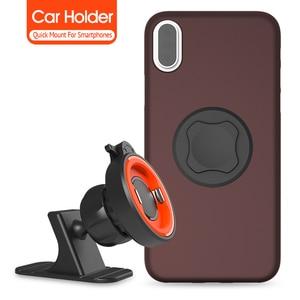 Image 5 - Car Holder Phone No Magnetic Mount Dashboard Mobile Phone Holder For Car Washable Strong Grip Iphone Cars Holder
