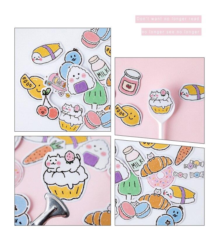 45 шт./упак. закусочный карман пуля журнал декоративные наклейки самоклеящиеся Стикеры для художественного оформления ногтей, наклейки для дневника