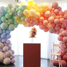 30pcs 5 Inch Macarons Color Pastel Candy Balloons For Birthday Party Latex Round Helium Baloons