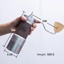 イタリア製 47 ミリメートルバリ 1zpresso jeプラススーパーポータブルコーヒーグラインダーコーヒーミル研削コアスーパー手動コーヒーベアリングrecom