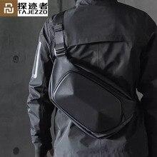 يوبين تاجيزو Polyhedron حقيبة كروسبودي حزمة للرجال مكافحة سرقة حقائب كتف متنقلة الذكور مقاوم للماء رحلة قصيرة الصدر
