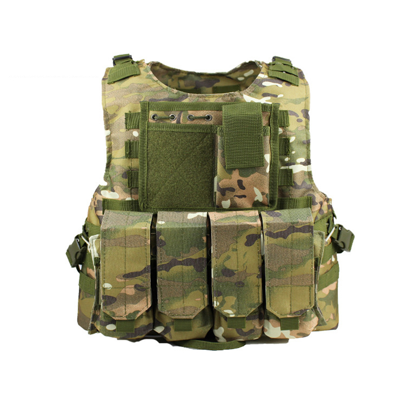 Military Molle Vest Tactical Airsoft Combat Vest SWAT Army Assault Equipment Adult Child Hunting Outdoor Clothes Kid CS Vest
