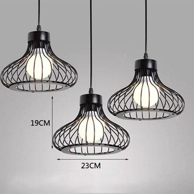 Zwarte Retro Industriële Hanglampen  5