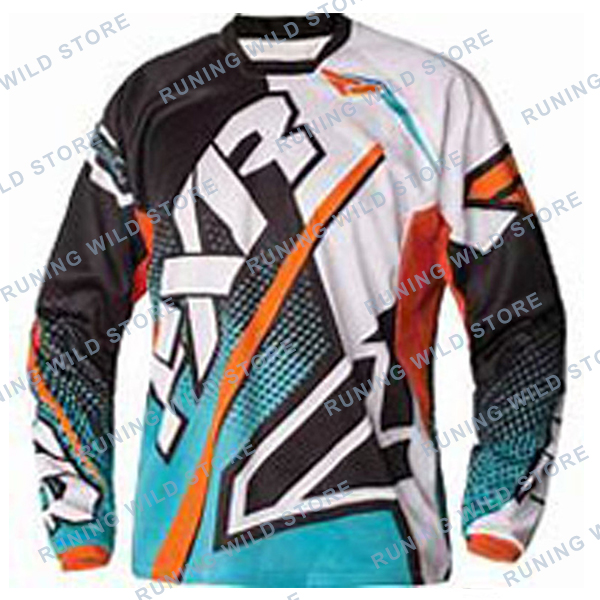 NEW FXR Motocross Shirt Motorcycle Jacket Off-road T-shirt Ride Bicycle Long-sleeve Jersey Moto Cycling Jersey Men Long Sleeve