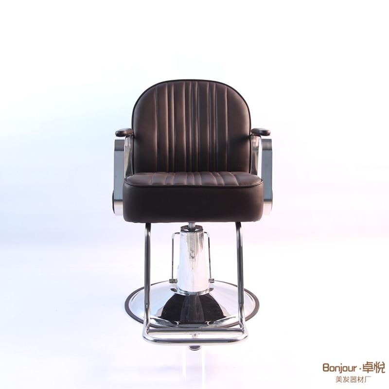 Net Red Barber Shop Lift Down High-end Cut Hair Dyeing Chair Hairdressing Chair Hair Salon Dedicated Simple Modern Stool