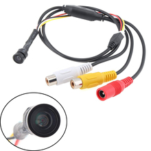 Sony CCD 1000TVL, vidéosurveillance 1/3mm, objectif grand angle, 1.8 degrés, Mini caméra de sécurité HD, tuyau