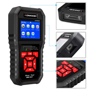 Image 2 - Professional OBD2 Scanner KW850 Code Reader Vehicle Engine Diagnostic EOBD Scan Tool for all OBDII &CAN Protocol Cars Since 1996