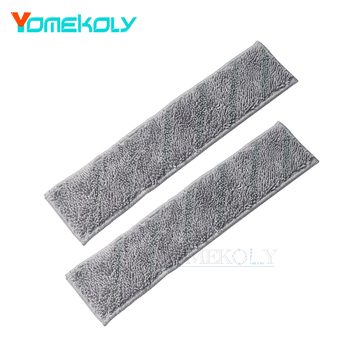 2 PCS for Xiaomi Roidmi NEX Vacuum Cleaner Mop Cloth Replacement Accessories Mop pad cleaning cloth protective pc clear screen films w cleaning cloth for xiaomi mione 1s transparent 6 pcs