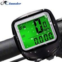 Bicycle Speedometer Bike Cycle Computer Wireless Cycling Computer Bicycle Speed Rainproof LED Nightlight Screen Bike Power Meter