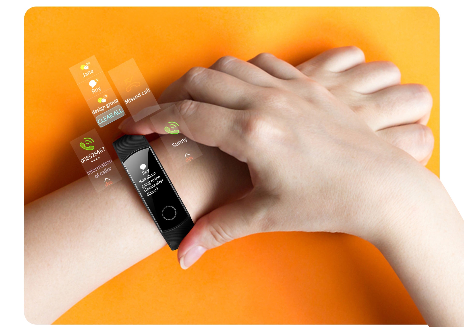 H2d289a53ac45437db08a6d52b868c634V global version Honor band 5 smart band AMOLED heart rate fitness sleep swimming sport blood oxygen tracker