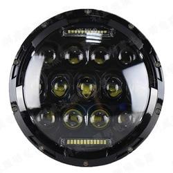 Hersteller verkauf 7 inch jeep lampe von 75 w horsemen der led scheinwerfer kreuz-land refit fahrzeug lampe