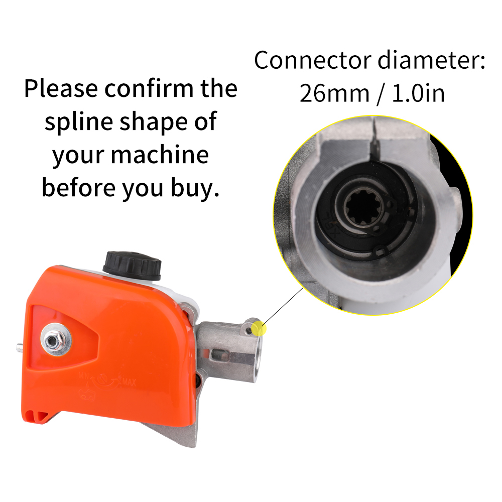 Tools : Pole Pruning Saw Chainsaw Gear Gearbox   Guide Plate   Chain Set For HT KM 73-130 Series Pole Saw Trimmer Connector