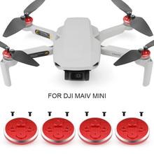 4PCS Aluminium Legierung Motor Schutzhülle Cap Staub-beweis Motor Protector Schutz für DJI Mavic Mini Drone