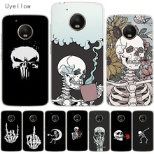 Uyellow Pirates Skull Soft Cover For Motorola G4 G5 G5S G6 G7 E4 E5 Plus Play Phone Case Moto Power Silicone Coque Shell