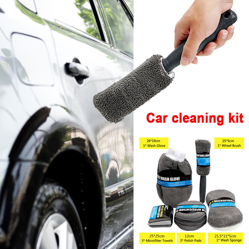 Car Cleaning Supplies >> Us 12 96 43 Off 9pcs Car Cleaning Supplies Cars Polishing Car Wash Kit Universal Sponge Microfiber Car Cleaning Kit On Aliexpress