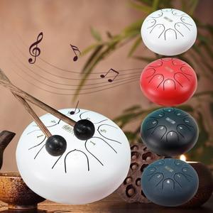 6 Inch Tongue Drum Mini 8-Tone